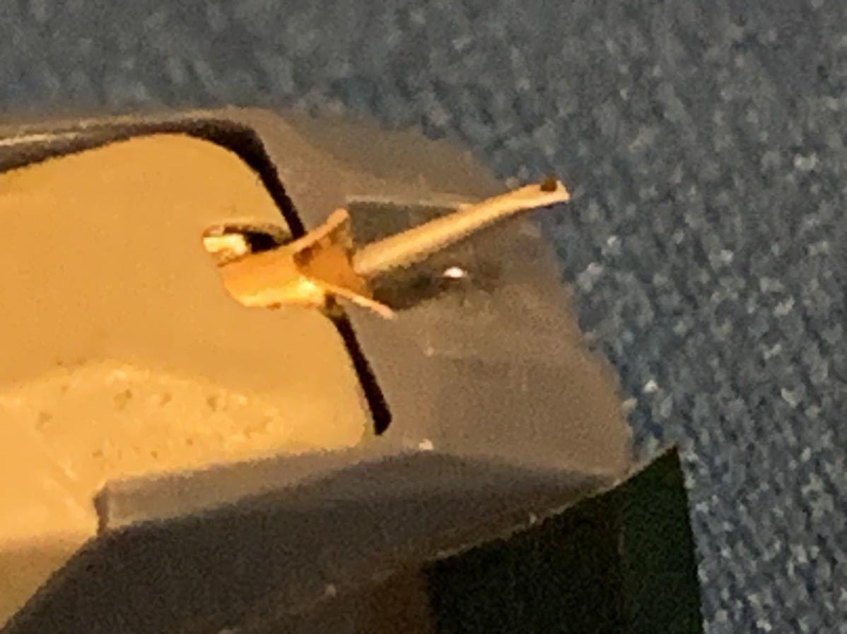 Technics P-30 T4P針 MM型カートリッジ 動作確認済み_画像5