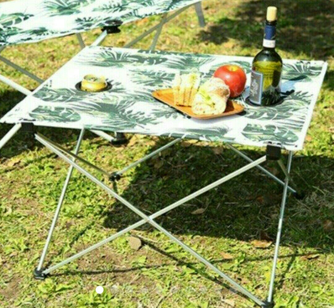 新品!折り畳み式 ポータブルテーブル     アウトドア キャンプ バーベキュー