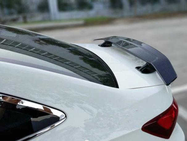 車 カスタム リア ウイング テール スポイラー 交換 おすすめ【カーボンブラック】汎用 セダン BMW トヨタ ホンダ テスラ など 人気_画像4