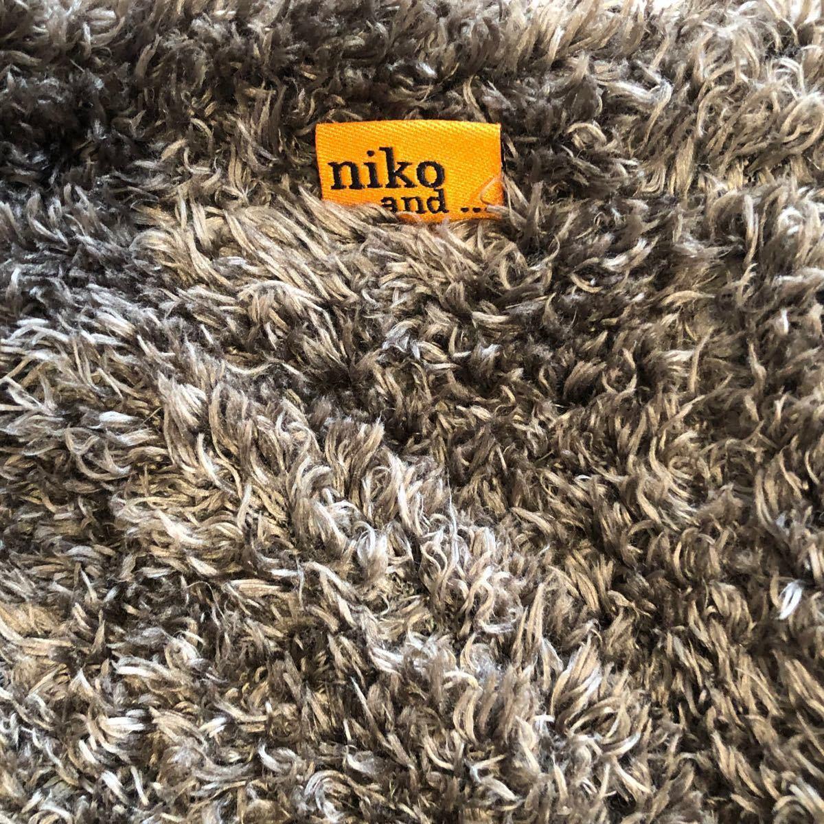 niko and… 小さいトートバック こげ茶