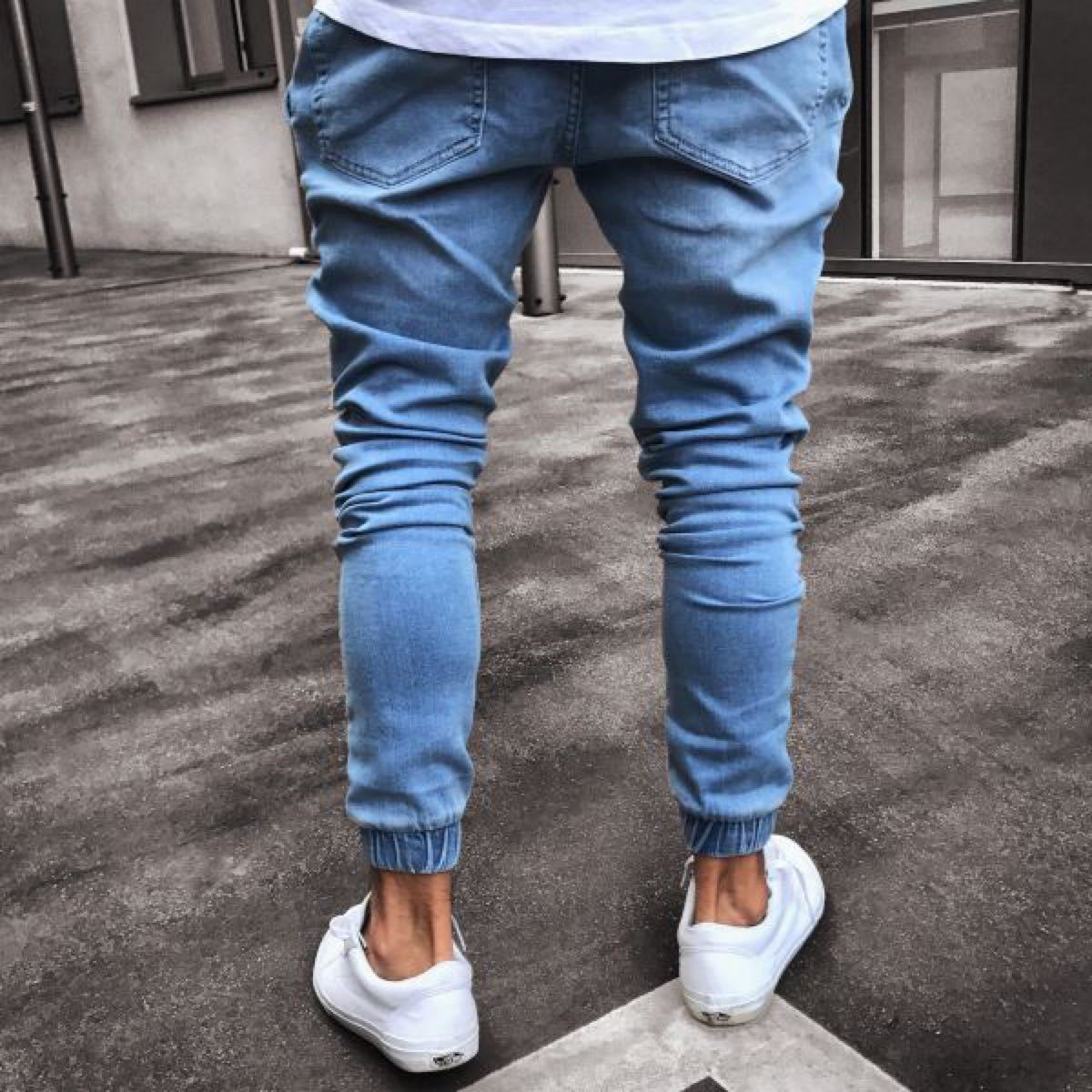 メンズ ジョガーパンツ デニム 韓国 オルチャン XLサイズ
