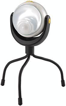 値下げ ムサシ RITEX 「自由に曲がる三脚で様々な場所に取付可能! 」 LEDどこでもセンサーライト ASL-090_画像1