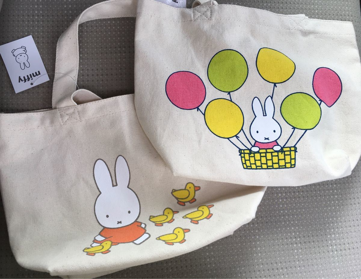 トートバッグ miffy ミッフィー ミニ バッグ コットン 鞄