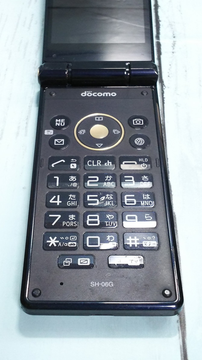 docomo AQUOS SH-06G ブラック 本体 白ロム SIMロック解除済み SIMフリー 444427_画像6