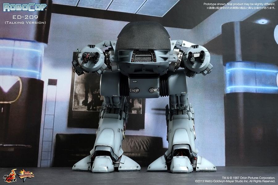ロボコップ ED-209 トーキング ver ホットトイズ MMS204 ムービー マスターピース 1/6 フィギュア 新品 未開封_画像5