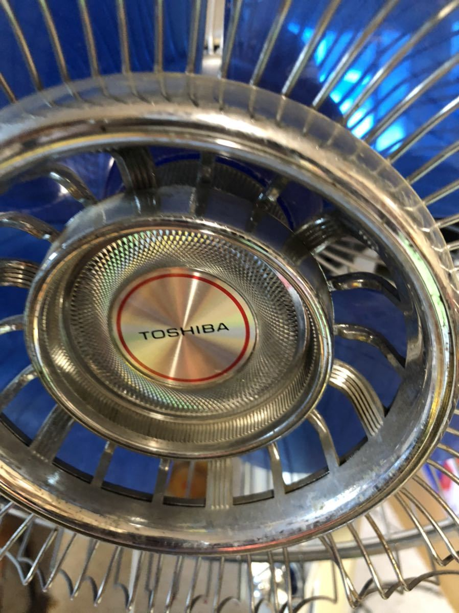 Toshiba 扇風機 レトロ扇風機 昭和レトロ _画像3