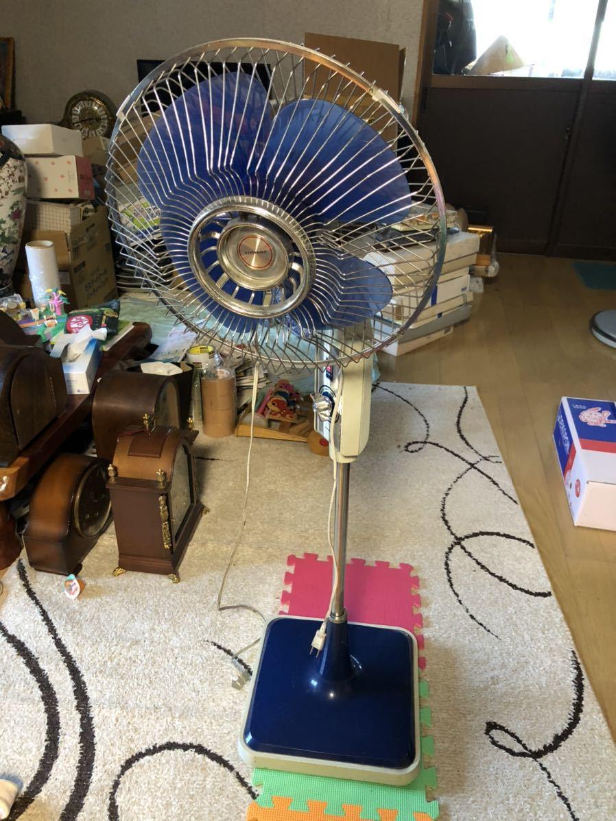 Toshiba 扇風機 レトロ扇風機 昭和レトロ _画像1