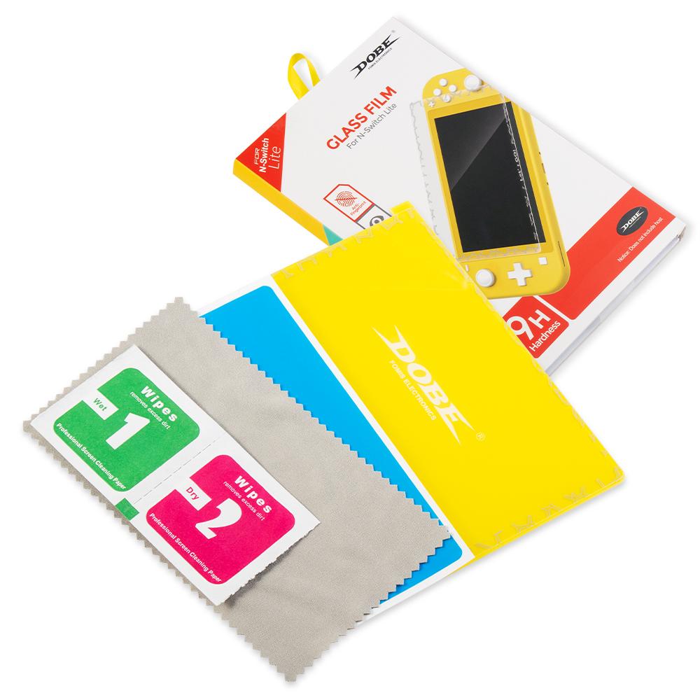 新品未使用 Nintendo Switch Lite用 ガラスフィルム 任天堂ニンテンドー スイッチ 強化ガラス 保護フィルム 硬度 9H ブルーライトカット_画像7