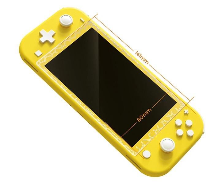 新品未使用 Nintendo Switch Lite用 ガラスフィルム 任天堂ニンテンドー スイッチ 強化ガラス 保護フィルム 硬度 9H ブルーライトカット_画像5