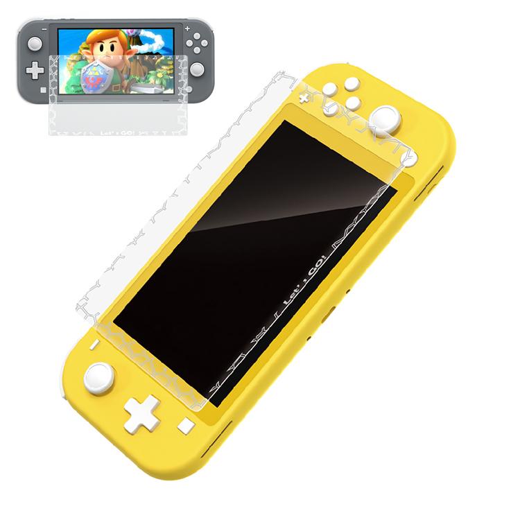 新品未使用 Nintendo Switch Lite用 ガラスフィルム 任天堂ニンテンドー スイッチ 強化ガラス 保護フィルム 硬度 9H ブルーライトカット_画像1