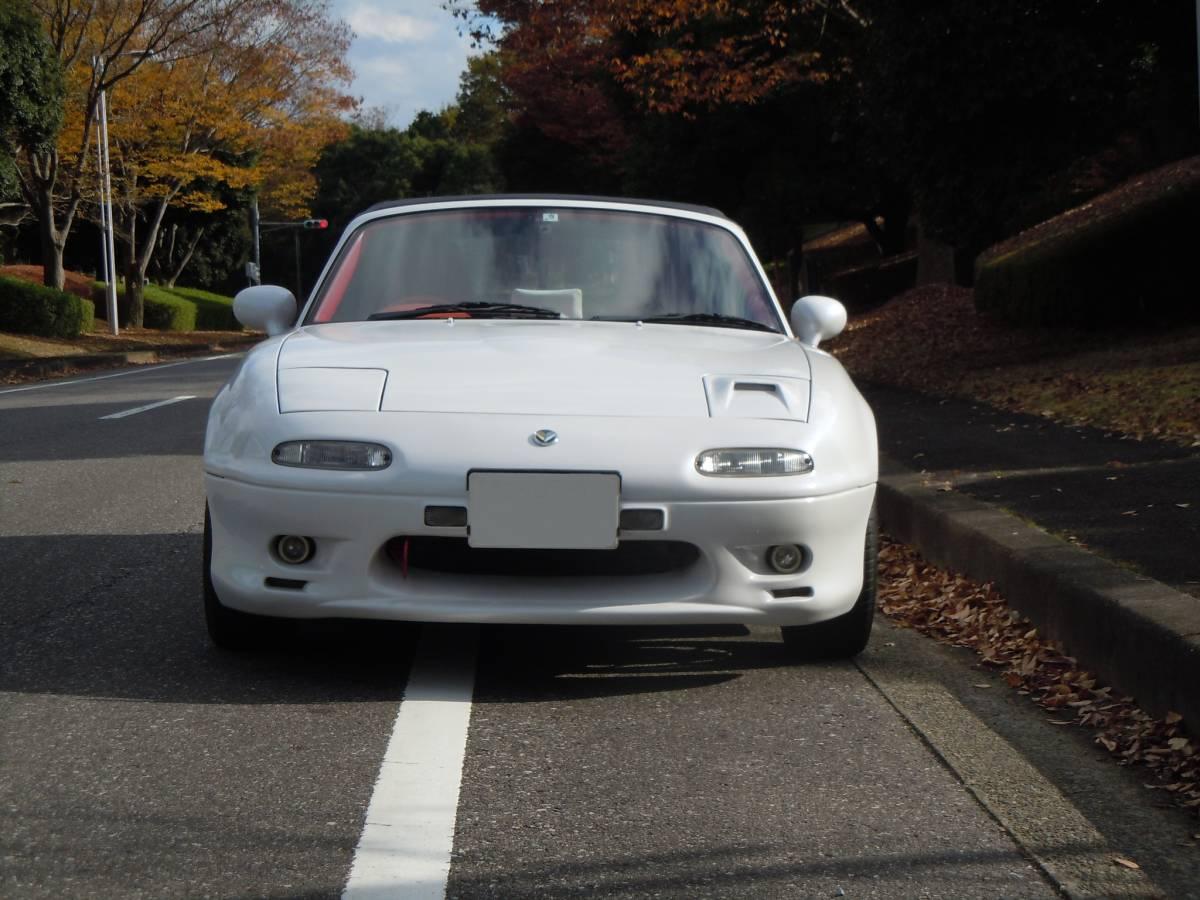 「マツダ ユーノスロードスター フルチューニング車」の画像3
