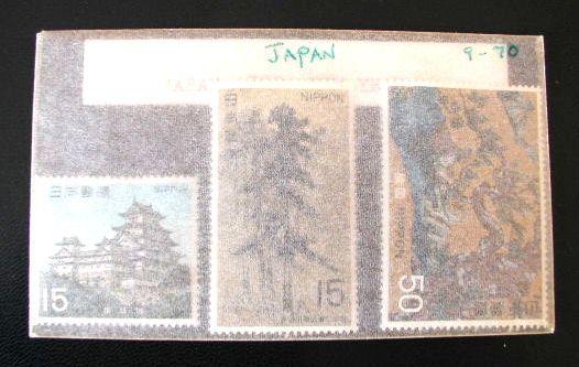 1969年(昭44)国宝セット・超美品保存・第6次「安土桃山時代」姫路城・松林図・檜図
