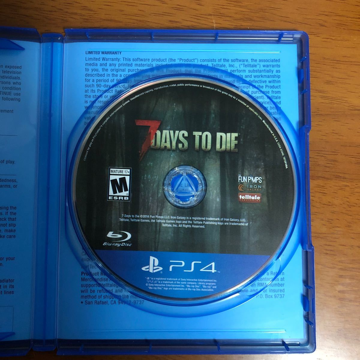 【PS4】7DAYS TO DIE