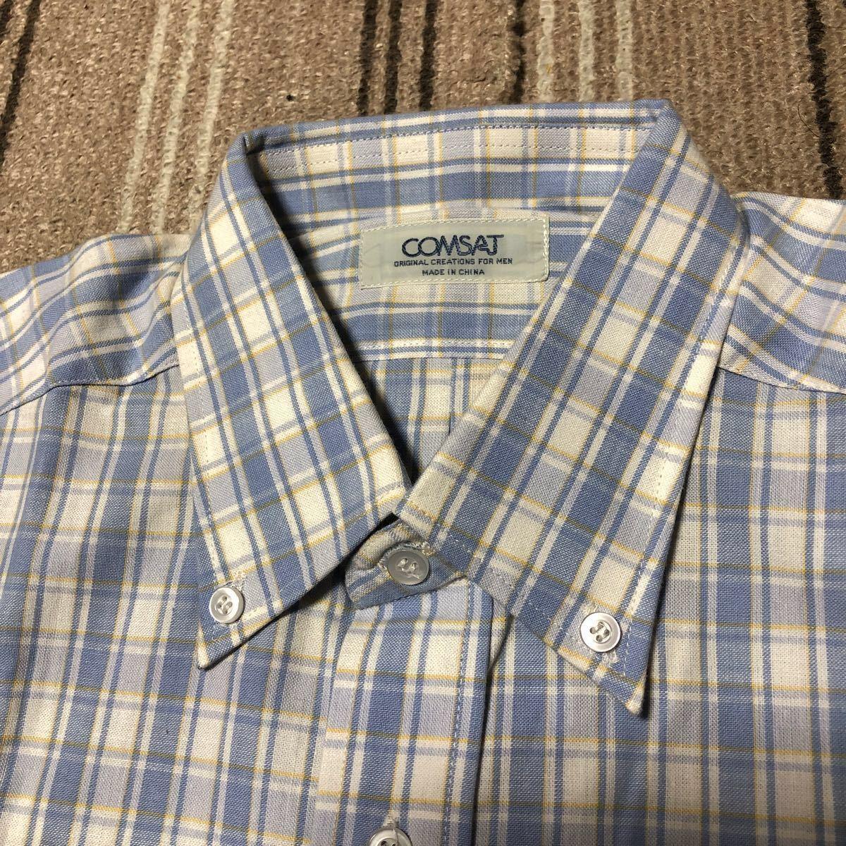 メンズ半袖ボタンダウンシャツ