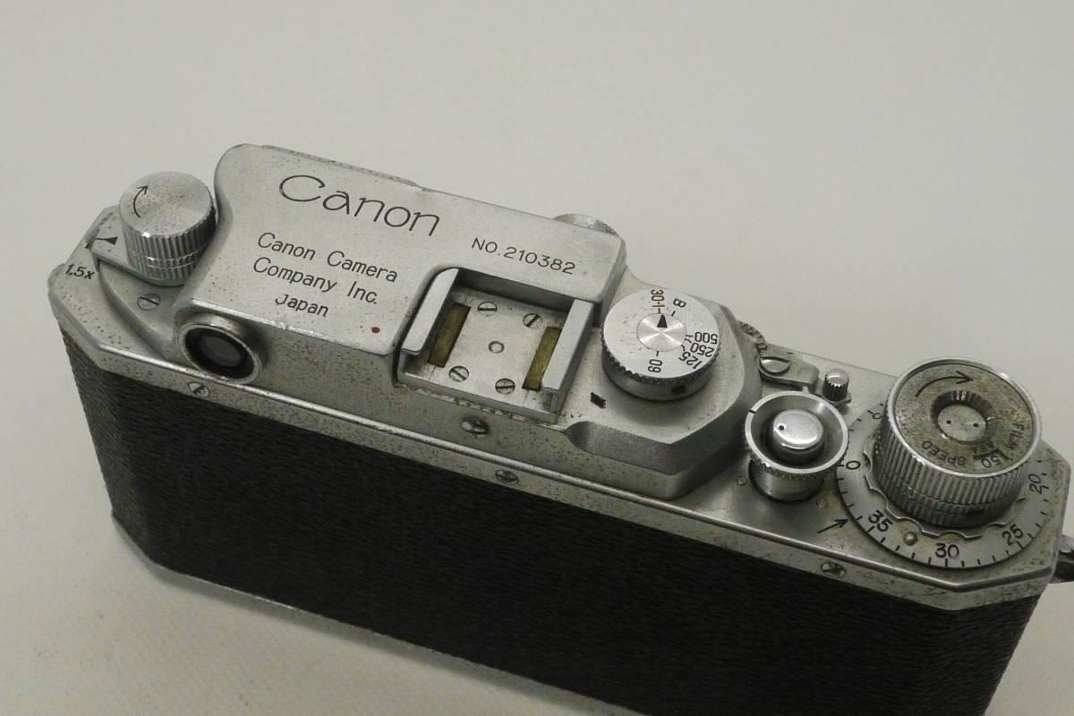 キャノン CANON NO.210382 レンジファインダー_画像4