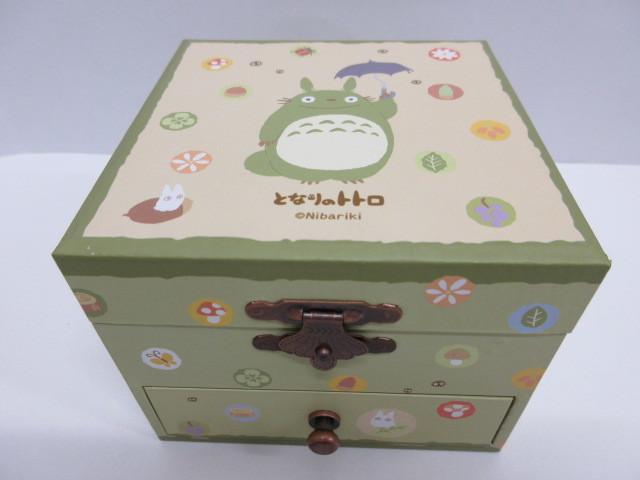 玩具祭 ジブリ祭 美品 セキグチ となりのトトロ オルゴール ペーパーボックス スタジオジブリ トトロ ジブリ_画像3