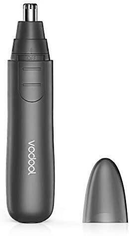 鼻毛カッター エチケットカッター LEDライト搭載 ブラシ付き 水洗い可 電動式カッター 耳毛・鼻毛切り ひげそり眉毛・髭・シェーバー