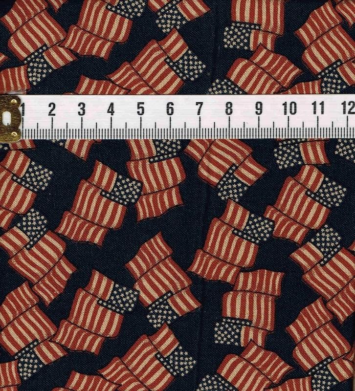 カットクロス 国旗 ネイビー レッド 2枚セット サイズ約 50cm×50cm 2-3