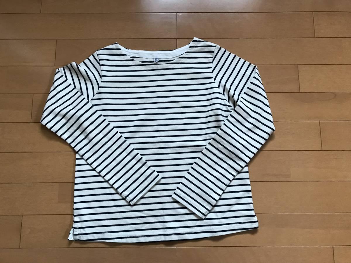 未使用 美品 ユニクロ 無印良品 長袖Tシャツ 150サイズ_画像3