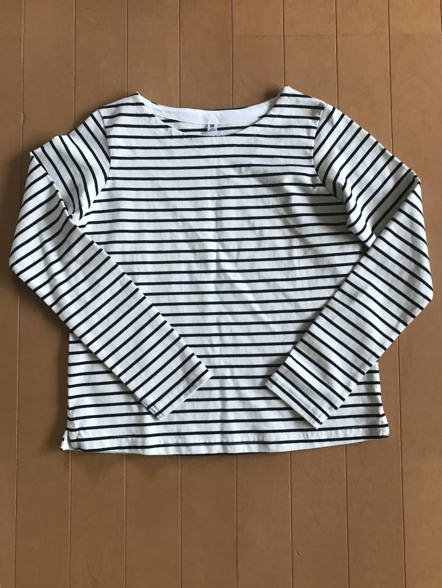 未使用 美品 ユニクロ 無印良品 長袖Tシャツ 150サイズ_画像5
