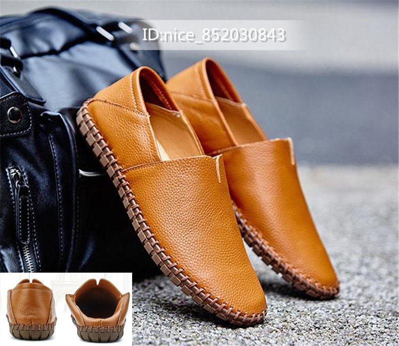 スリッポン メンズ新品 ローファー ドライビングシューズ 紳士靴 カジュアル 柔らかい 軽量通学  [24 cm -28.5cm選択]_画像1