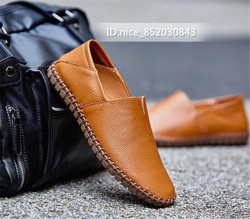 スリッポン メンズ新品 ローファー ドライビングシューズ 紳士靴 カジュアル 柔らかい 軽量通学  [24 cm -28.5cm選択]_画像4