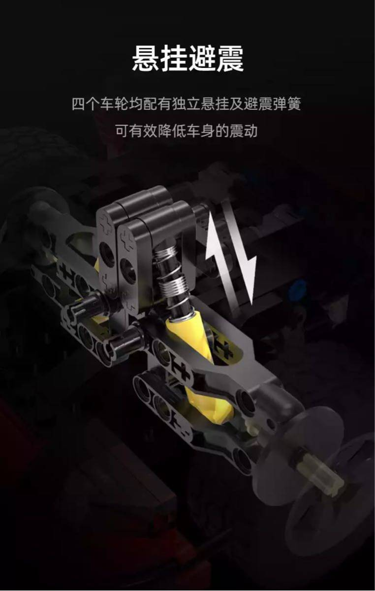 LEGO互換 ポルシェ 赤_画像5