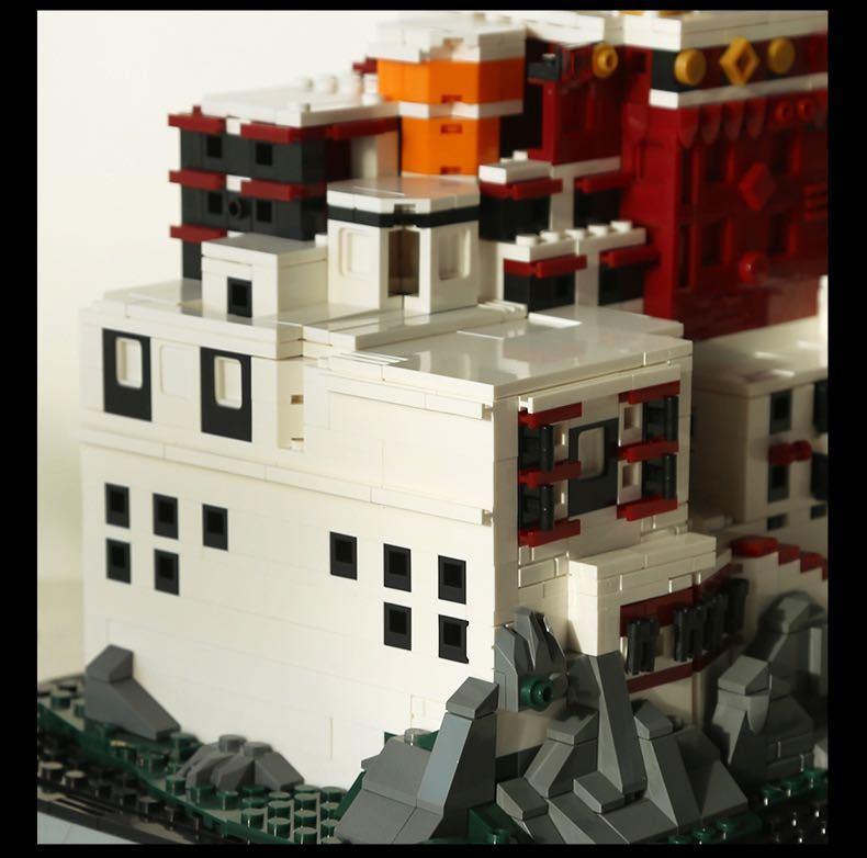 LEGO互換 ポタラ宮 ②_画像4