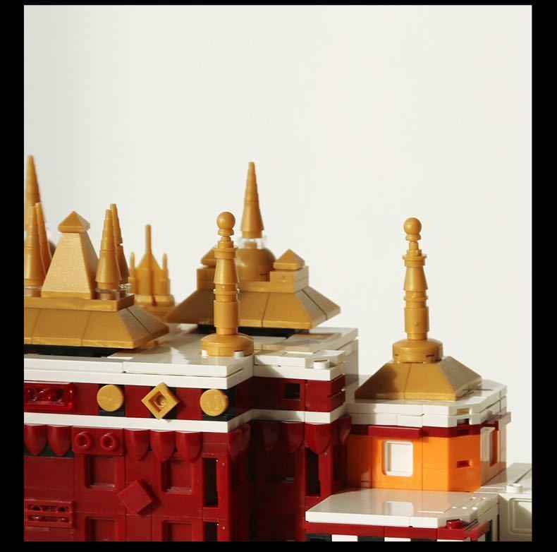 LEGO互換 ポタラ宮 ②_画像6