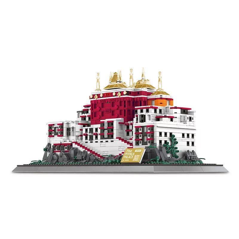 LEGO互換 ポタラ宮 ②_画像2