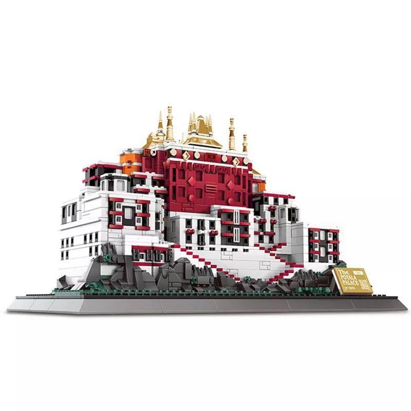 LEGO互換 ポタラ宮 ②_画像1