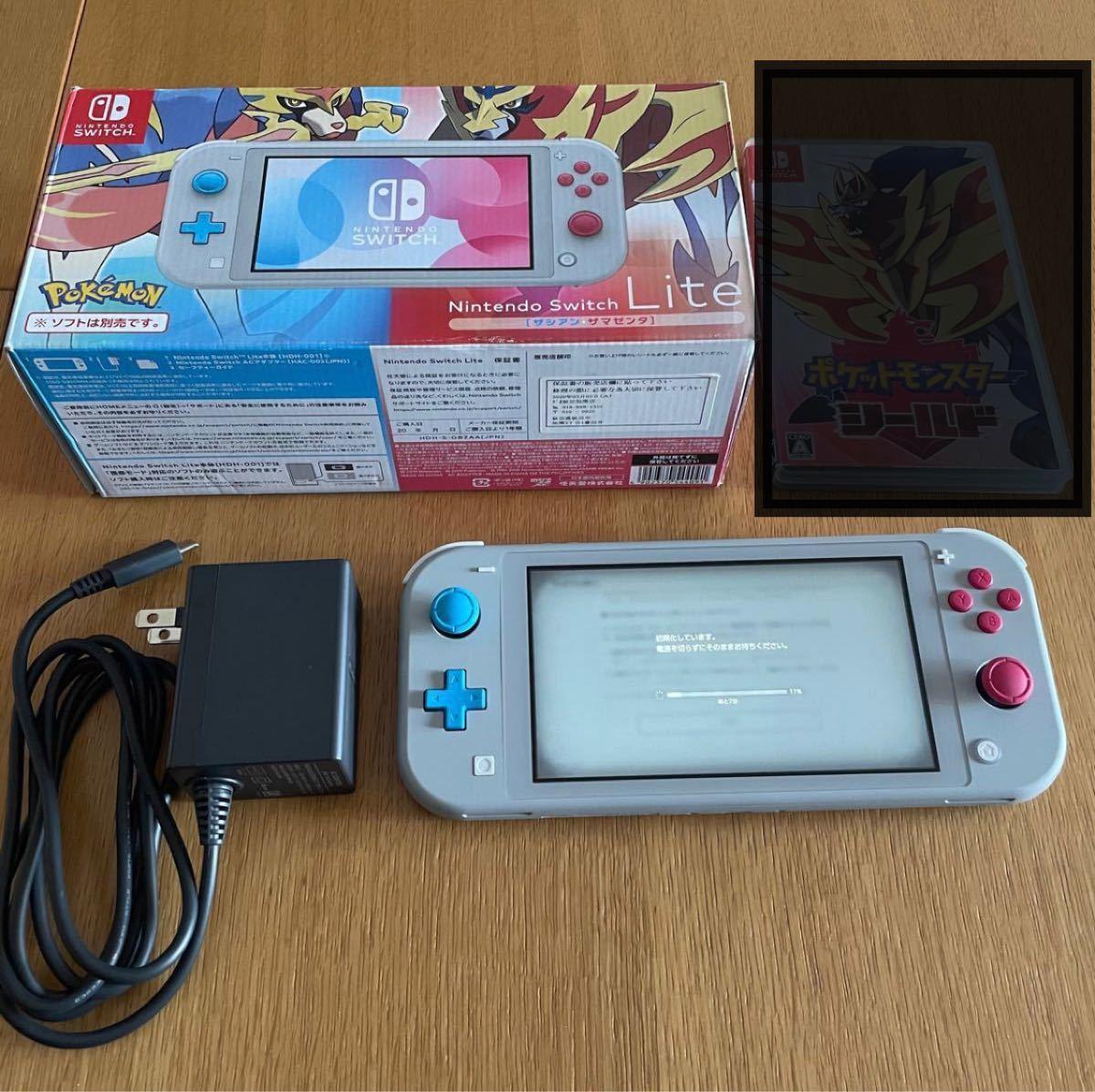 Nintendo Switch lite ニンテンドー スイッチ ライト ザシアン ザマゼンタ ポケモン