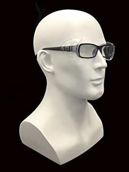 4 PCS M VIEEL 【4 個入り】花粉症めがね M・Sサイズ 防塵 花粉対策 メタルフレーム保護メガネ用サイドシールド _画像5