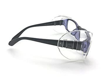4 PCS M VIEEL 【4 個入り】花粉症めがね M・Sサイズ 防塵 花粉対策 メタルフレーム保護メガネ用サイドシールド _画像4