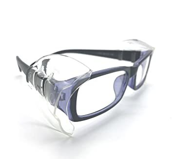 4 PCS M VIEEL 【4 個入り】花粉症めがね M・Sサイズ 防塵 花粉対策 メタルフレーム保護メガネ用サイドシールド _画像1