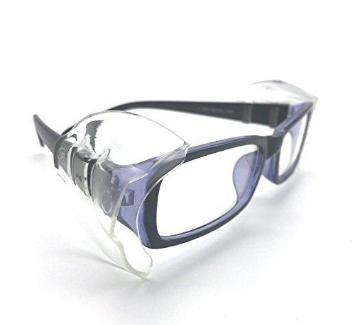 4 PCS M VIEEL 【4 個入り】花粉症めがね M・Sサイズ 防塵 花粉対策 メタルフレーム保護メガネ用サイドシールド _画像8