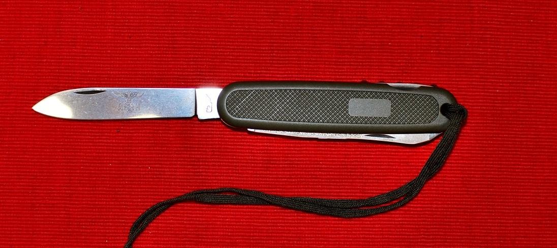 No.2050104 Germany Army Knives・7機能・ビニールケース入・キャンピングナイフ・