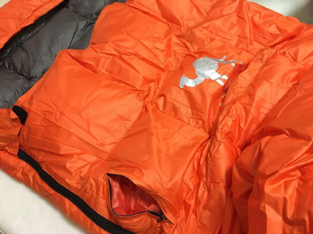 2個セット ダウン 寝袋 緑 黒 シュラフ キャンプ オールシーズン -5℃ アウトドア 車中泊 防災 羽毛 軽量 コンパクト