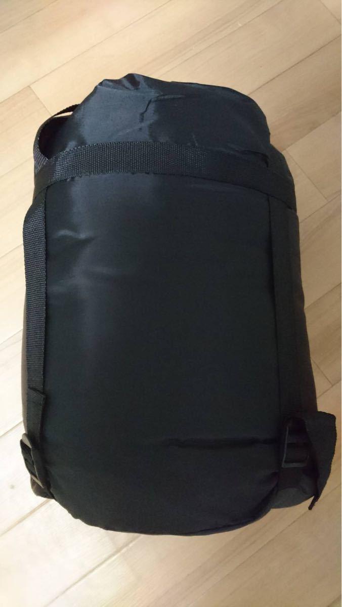 【冬用】 寝袋 新品 -15℃ シュラフ 封筒型 コンパクト 丸洗い 抗菌 キャンプ アウトドア 車中泊 夜勤 防災 軽量 黒