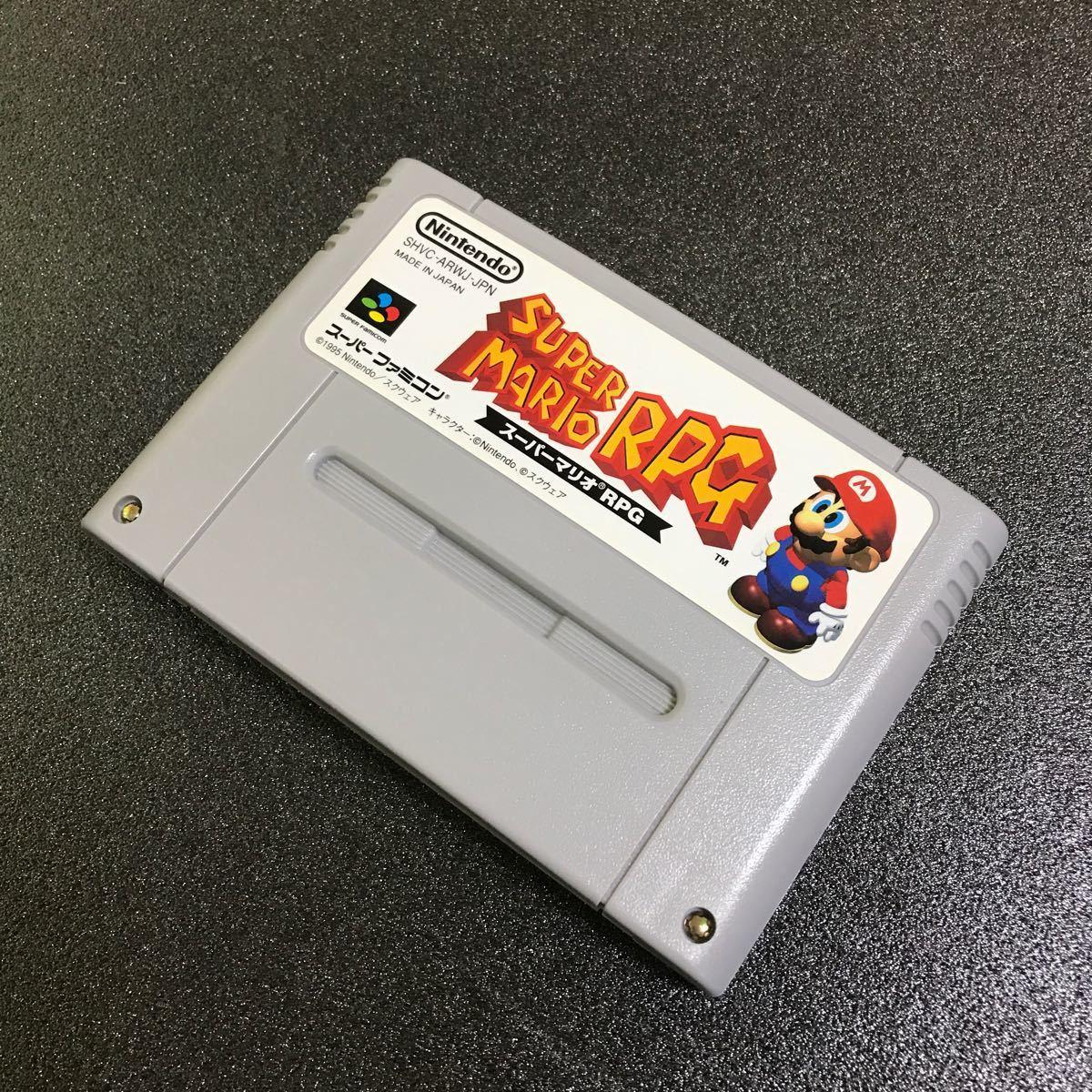 スーパーマリオRPG 日本正規品  スーパーファミコン