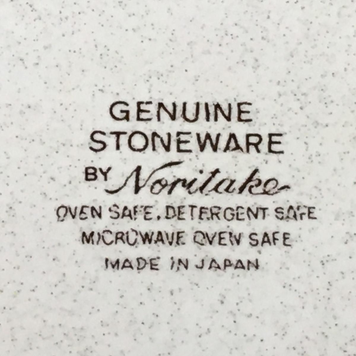 ■ノリタケ GENUINE STONEWARE 大皿 直径約30cm /未使用店舗展示品 ⇔■_画像6