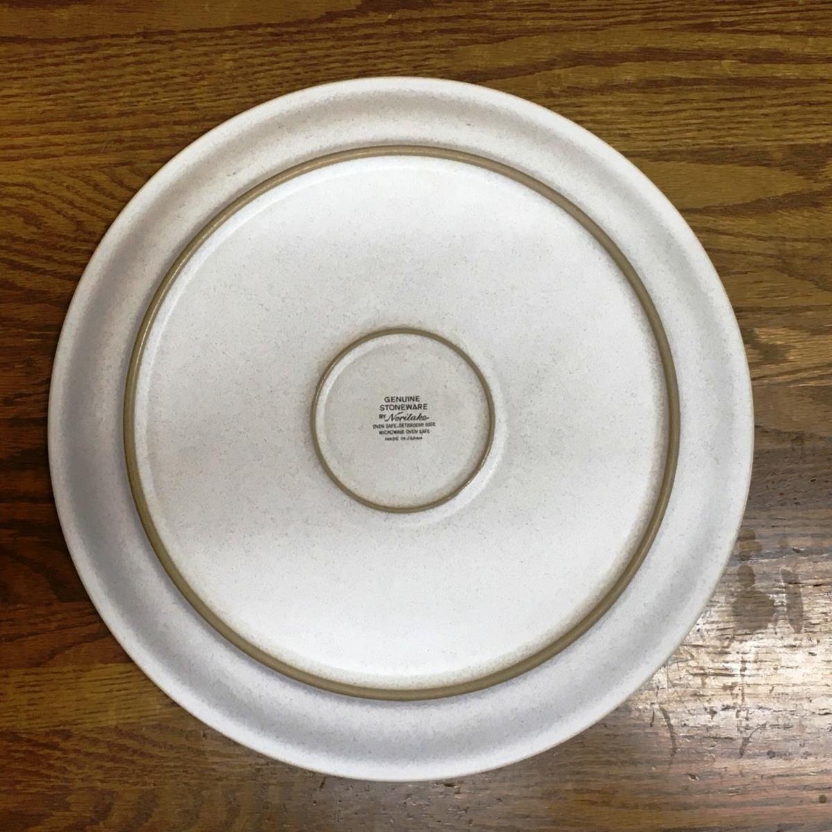 ■ノリタケ GENUINE STONEWARE 大皿 直径約30cm /未使用店舗展示品 ⇔■_画像3