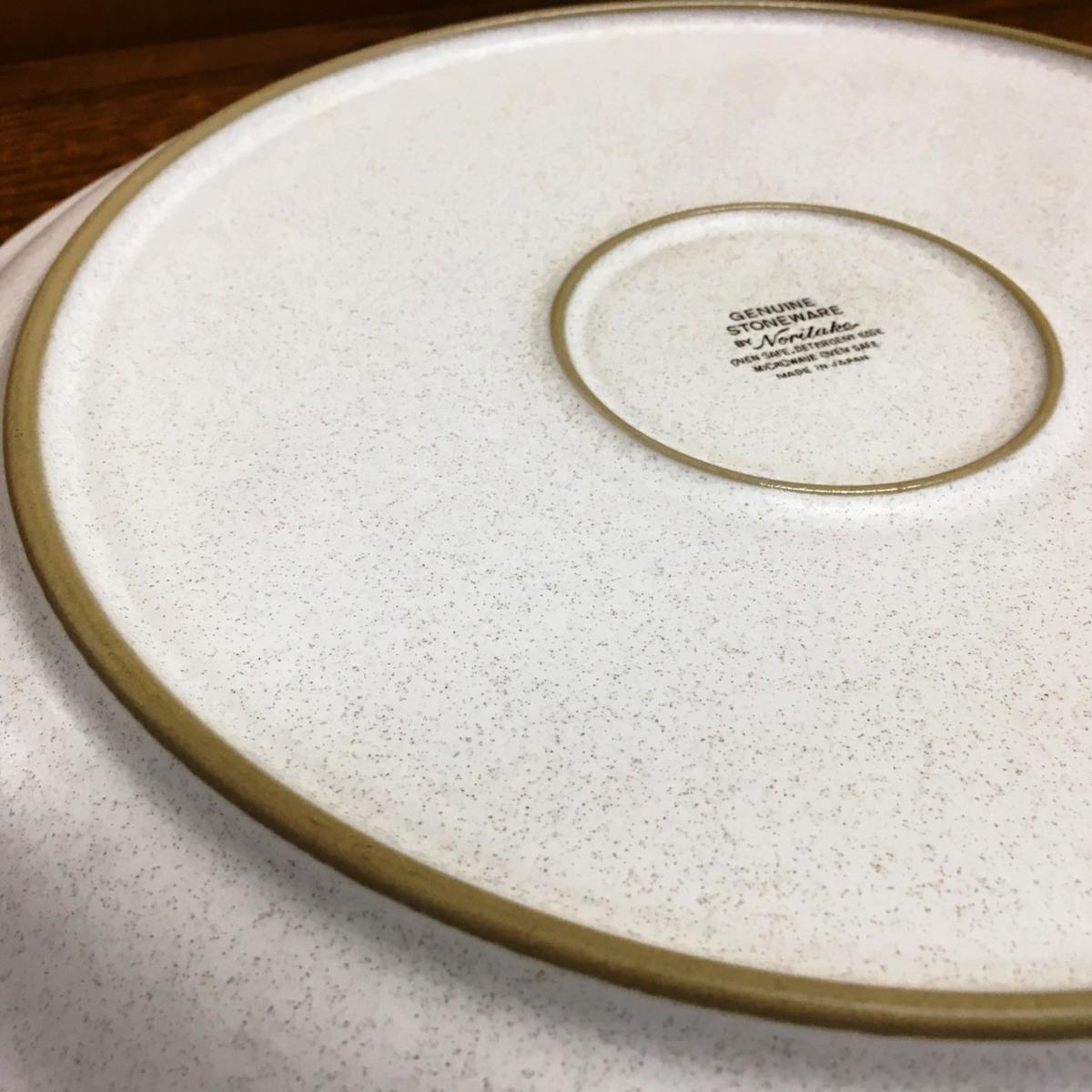 ■ノリタケ GENUINE STONEWARE 大皿 直径約30cm /未使用店舗展示品 ⇔■_画像4