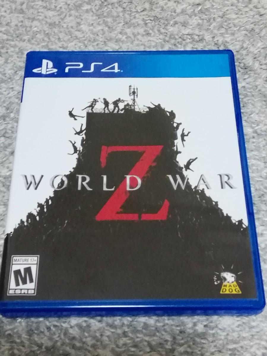 PS4ソフト World War Z