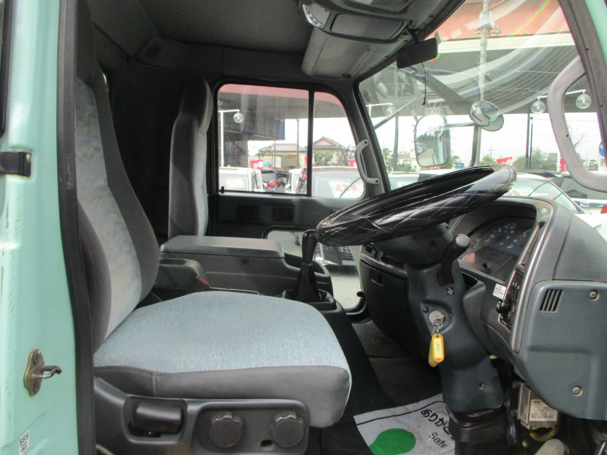 「即決18年2月コンドル脱着装置付きコンテナ専用車(アームロール)・新明和ツインホイスト・全国登録可能」の画像3
