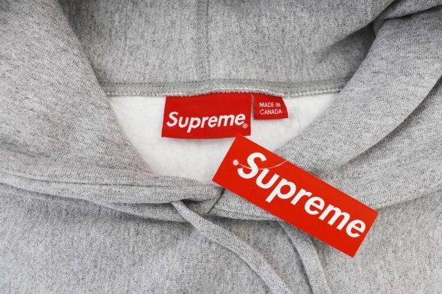 シュプリーム SUPREME ×KAWS カウズ 21SS Chalk Box Logo Hooded Sweatshirt チョーク ボックス ロゴ パーカー L 中古☆AA★ 210308 0300_画像3