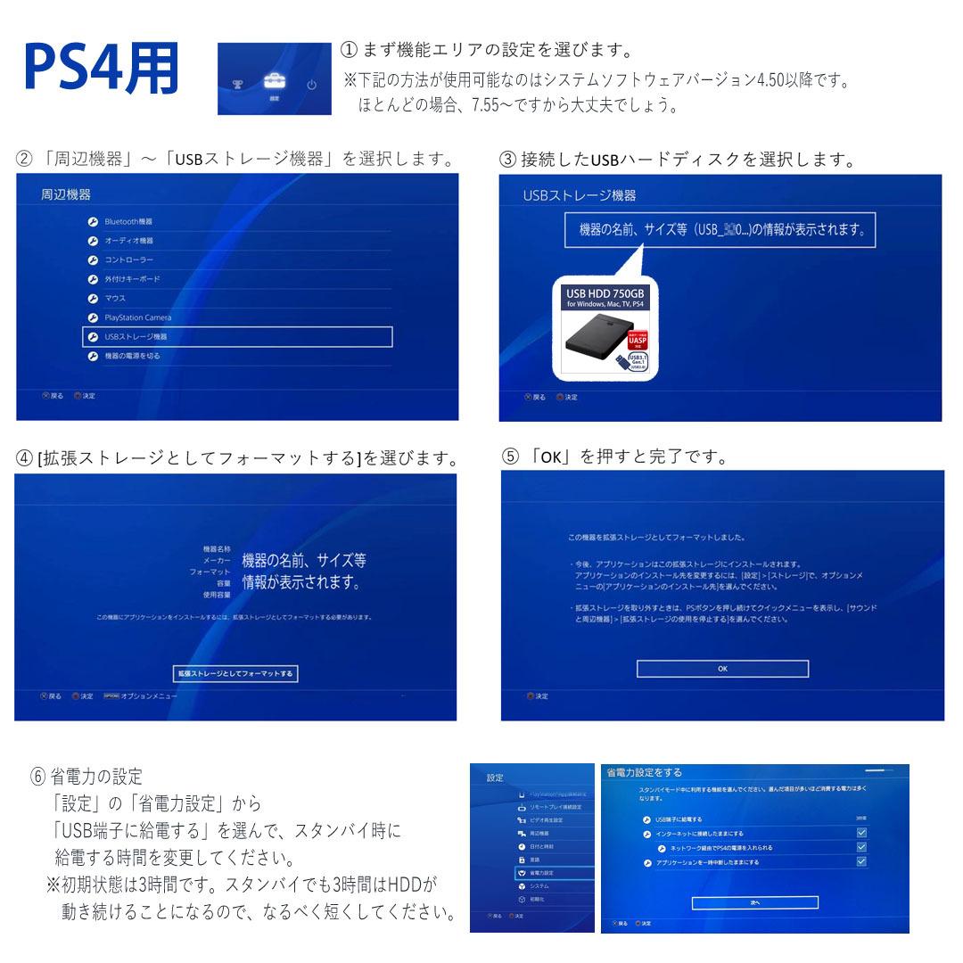 USBハードディスク 750GB 2.5インチポータブル USB3 使用1814H
