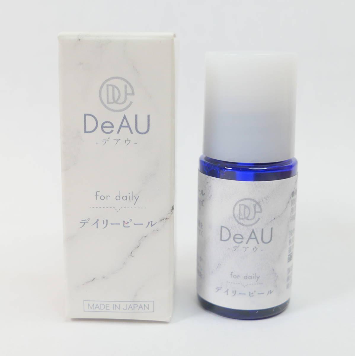 未使用品★DeAU デアウ デイリーピール 角質柔軟美容液 10ml_画像1