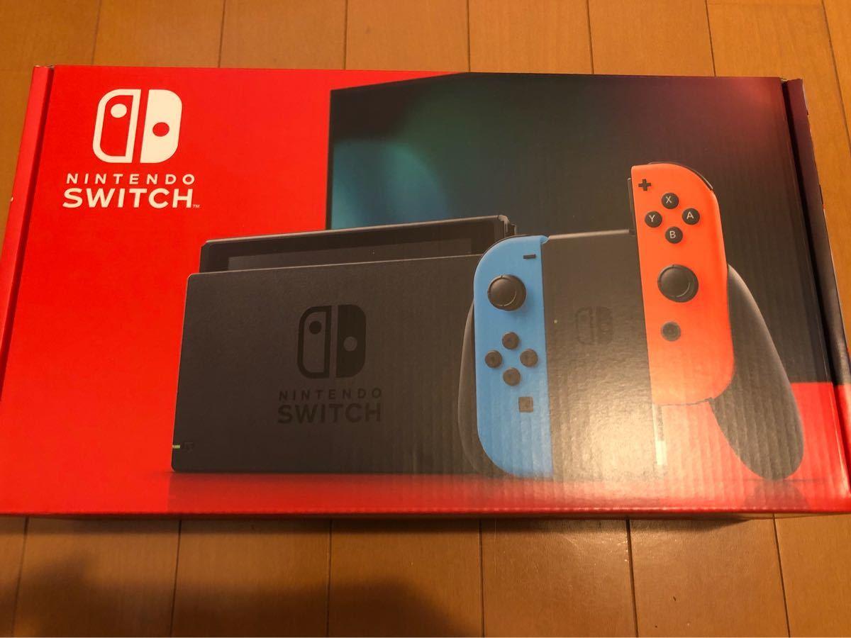 ニンテンドー スイッチ 本体 Nintendo Switch ネオンブルー ネオンレッド 新モデル 保証付