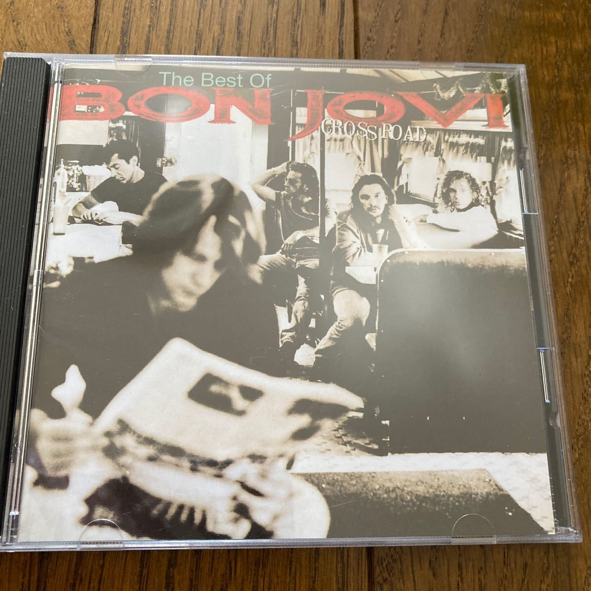 CD  2枚セット BON JOVI   CROSS ROAD ボンジョヴィ